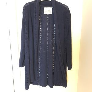 Anthropologie Angels of the North Cardigan small